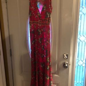New York and Company Maxi wrap dress